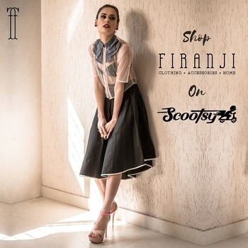 Shop @Firanji On @scootsyit! https://goo.gl/UNCYZs  SHOP NOW : Free Shipping Sale ends on 20th July 2017  #firanji #scootsyit #brand #fashion #clothing #accessories #fashiondesigner #contemporaryfashion #capsulecollection #ss17 #fashionblogger #skirt #sheertop #women #onlinestore #stylist #sale #trend #style #vogue #india #mumbai #delhi #bangalore