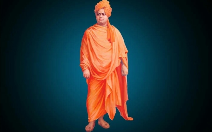 """The lord of Hindu swami vivekanand this d 125th annivesery 11 Sep 1893 speech of Chicago """" my brorhers n sister very proud swami vivekand great thought by Indian #madeinindia"""