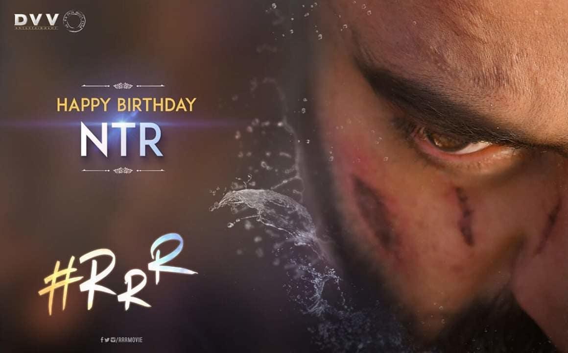 Wishing our ferocious and powerful, Komaram Bheem a very Happy Birthday. We wish you a happening year ahead! 🌊  #HappyBirthdayNTR @jrntr #RRR