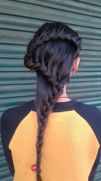 #Hairoftheday#longhairdontcare#hairstyle by@marnyaAngu :-).