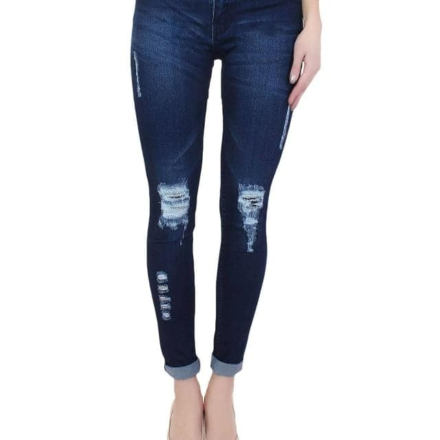 Denim Blue Skinny Fit Rugged Jeans  Color : Blue Fabric : Denim  Size : 28, 30, 32, 34 inch  Delivery : 6 - 8 business days Free and easy exchange/return up to 2 days after getting delivery if any issue  Free delivery - cash on delivery also available (All over India) For out of India delivery, just ping us.   Order now by sending a direct message..! . Contact on WhatsApp: +91 93751 77927 Follow on : facebook.com/ModeltyFashionStore . Shop more jeans on #ModeltyJeans Shop other products on #ModeltyFashion  #womenswear #womensstyle #shopaholic #indianstyle #jeans #denim #love #denimjeans #womensjeans #westernwear #clothes #apparel #clothingbrand #celebritystyle #swag #ootd #rugged #fashionaddicted #shopnow #partywear #celebritylook #fashionblogger #indianfashion #ahmedabad #onlineshop #fashion #trend #blueJeans