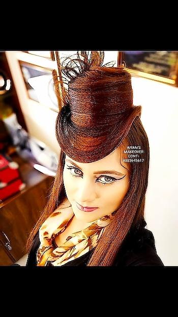 ANAM'S BRIDAL MAKEOVER #anamsiddique #hairstylist #hair-style #hair-do #hair-do #hair-do #hair-story #awesome-hair #hair-stories #hair love❤