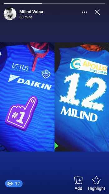 that's some pretty cool merch... 🤑 thanks Delhi Capitals #dcofficial #merchandise #tee #polo #jio #ipl #indianpremierleague #2019 #roposoness #roposolove #followforfashion #followme #followforfollow