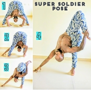 Super Soldier Pose breakdown  . . . this one is a real challenge 🙌😃😃 . . . #roposotalenthunt #yoga #yogainspiration #yogainstructor #yogateacher #yogaeverydamnday #yogalife #yogaeveryday #yogaaddict #fitness #fitnessmotivation #yogatips