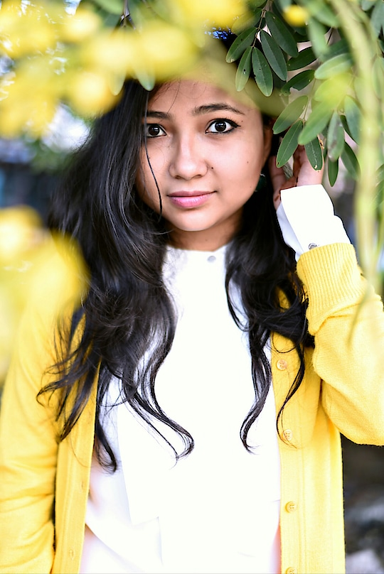 Being a fashion designer I don't have any dress code for my work place. So in this story I decided to wear this seasons hot mustard yellow cardigan with my fevourite white shirt. 💛💛💛💛 What's your pick??  #wiwt #picoftheday #winter-style #guwahati #guwahatiblogger #guwahatidiaries #ootd #roposotalks #loveonroposo