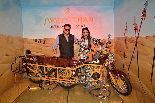 Gatiman !!!  #jaipurdiaries #nahargarh #forts #jaipur #gatimanbike #rajasthantourism