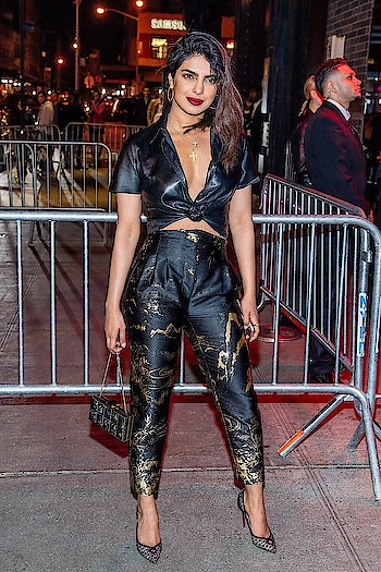 #priyankachopra #metgala2018 #after_party_look