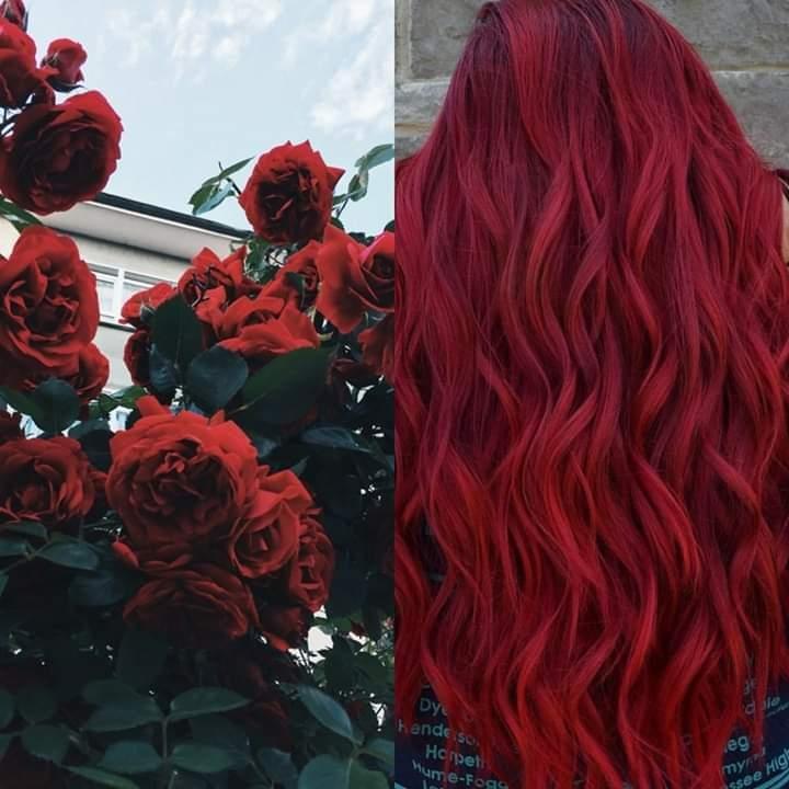 #inspo #red #hairgoals