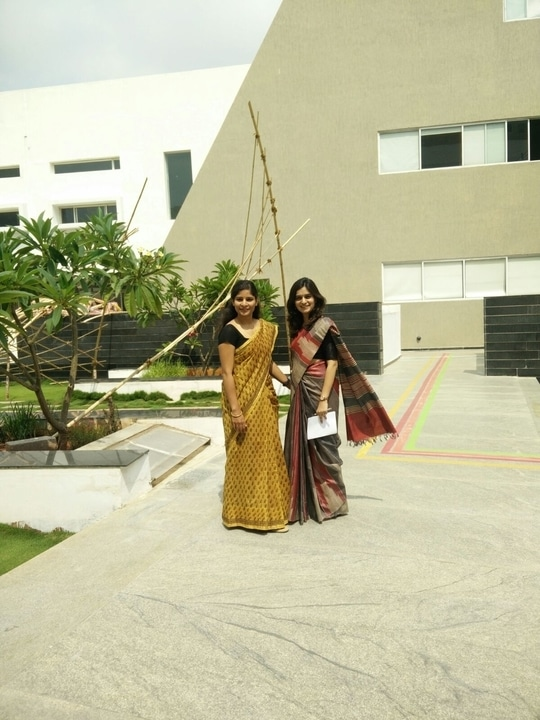 of college, love, celebrations and sarees!!