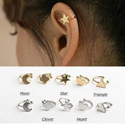 Ear Cuff / ClipOn To Buy WhatsApp to 9061852326 or www.facebook.com/thetrunkmanjeri  #fashion #earcuff #nosecuff #cliponearrings #clipon #piercings #earrings #secondstud #trendingfashion  #studearrings #jewellery #accessoreries