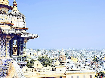 Udaipur from corner of City Palace. #roposo #travel #travel-diaries #travel-love #travelpics #roposotravel #roposotraveldiaries