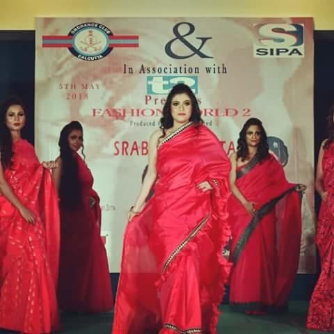 Fashion World 2  #FashionShow #DesignerSaree #DesignerShowCase2018 #OnTheRamp #ShowStopper  #DesignerFashionShow #indianwomensarees #OrdnanceClub #Kolkata