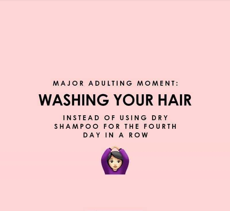 Washing that hair instead of being lazy... finally! #haircare #haircaretips #hair #haircareroutine #haircareproducts
