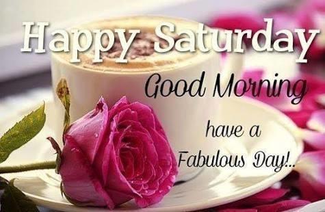Good Morning! #saturday #goodmorning #dailywisheschannel #dailywishes #weekendstarts #roposopost #haveaniceday