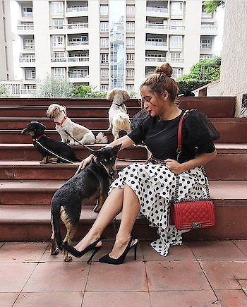 Always trust your pumps and pets 🐕🐩👠  . . .  #INTOTOs #fashionforall #globaltrends #designershoes #shoesaddict #dailyfashion #brandshop #trending #heelsbranded #shoelove #shoefie #blackheels #everyday #INTOTOxKOOVS #bloggerpick #fashionblogger #blackpumps #blackheels