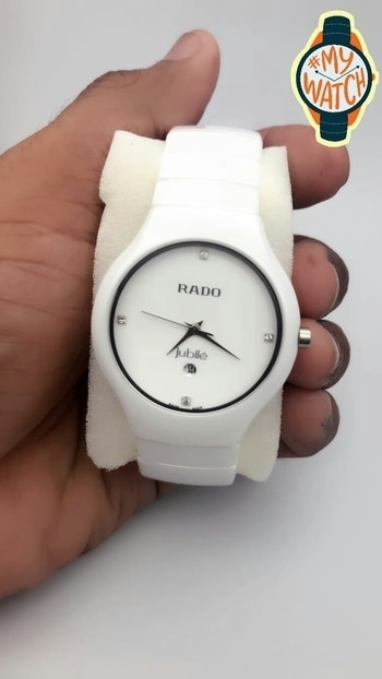 ₹3295/- Full 100% Ceramic Watch 👌 12A Quality 👌 100% Quality Gurantee 👌 Free Shipping and COD Available  👉  For Further Info Please Contact 8586806753 #officeselfie #MyWatch