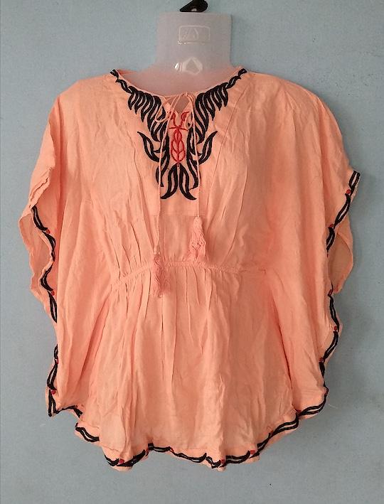 Sale Sale💟💟😍😍😍 Embroidery Kaftan Fabric: Cotton Blend Size upto 36 Price: 300+ship Color: light peach   #klazzics #kaftan #cotton #cottonlove #comfy #causal #wear #college #western #collections #must #have #collections #fashion #shop #shoppinglove #instafashionblogger #fashionblogger #styleblogger #collaborations #trendy #sale #chennai #hyderabad #kerala #bangalore #mumbai #goa #ajmer #gujarat