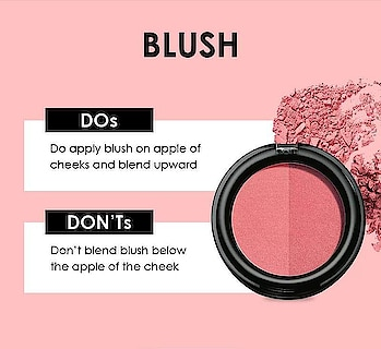 Blush it out but keep these pointers in mind☺️ #blush #blusher #blushpink #blushon #roposo-beauty #beautytips #beautytipsandtricks #ropo-makeup #makeuptips  #BeautyDOsAndDONTs