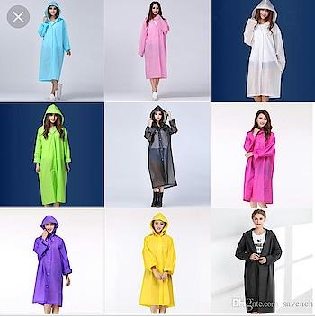 navaratriche raincoats 😆