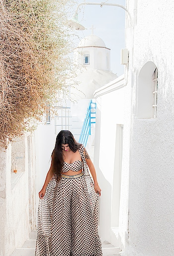 Capturing the gorgeous Santorini sunrise while one struts down the miniscule streets in Greece in @labelnityabajaj Perfect Holiday staples from #NityaBajaj  Shop #SpotbyNityaBajaj at www.nityabajaj.com and don't forget to carry that resort look in your suitcase ❤️ Captured by @niki_ma.k  For enquiries call +91 9810339669  #labelnityabajaj #NityaBajaj #Polkalove #polkadotsandstripes #NityaBajaj #resortwear #summerresort19 #vacayready #summerholiday #holidaystyle #holiday #holidaymode #polka