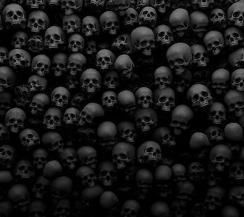 #black #blacklove #scull #horrible #terrifier