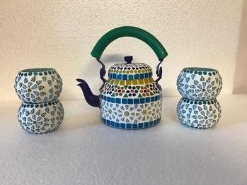 #styleelyte#fashion#homedecor#kettleset#handwork#artisians#hardwork. kettle set
