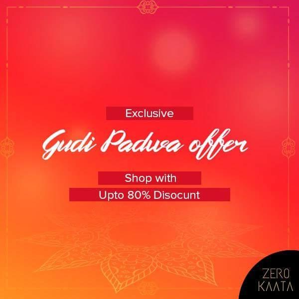 Soneri suryachi soneri kirne, Soneri kirnancha soneri diwas.. Soneri diwasachya Soneri Shubhechha! Gudipadvyachya Hardik Shubhechha. . . Celebrate this beautiful festival with ZeroKaata's Discount. . . Shop From GUDI PADWA Collection and get upto 80% discount. . . Shop Here Now : https://goo.gl/XXNa2m  #gudipadwa #gudipadwa2018 #gudipadwaspecial #swagg #fashiongram #jewelrygram #design #fashionista #discounts #mylook #brands #styleblogger #brand #fashionphotography #fashiondesign #fashiondaily #instafashion #cool #prilaga #suit #fashionstyle #shopping #fashionblog #festival #fashiondiaries #fashionable #purse #jewlery