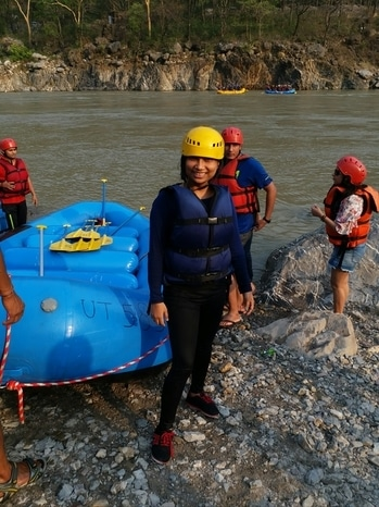 #rafting #traveldiaries #blue #watersports #fun #masti #gang #tour #travelblogger #indianblogger #youtuber #mystylechase #follow4follow #like #lifestyle #comment