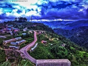 #traveling #nepal #highway #nepalthok #view #civilengineering #nature #naturelover #naturephotography #peaceofmind #amazingmoments #cafe #summer #nepaldiaries #mobilephotography #amateurphotography #amateurphotographer  #snapseed #igers #roposo #india_ig #redmi2 #hdr_edits #bliss