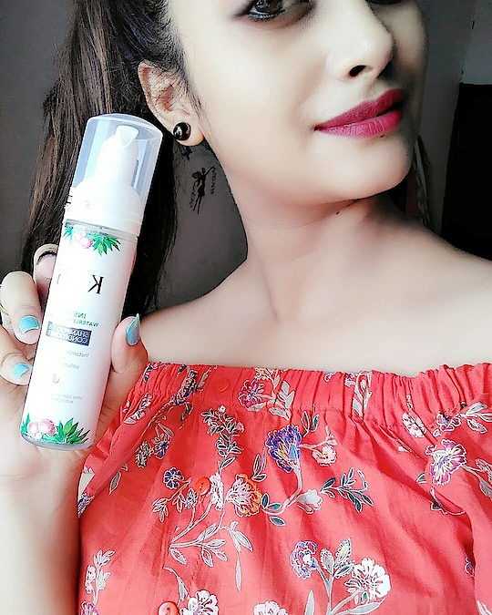 Hello Everyone, I am here with a very interesting product from the brand Ktein Cosmetic. It's a dry shampoo plus conditioner. Now, read on to know more details about this product.  PRODUCT DESCRIPTION👇 Ktein Instant Natural Waterless Shampoo and Conditioner is one of its kind and an ideal solution for hair cleansing and conditioning within a minute without the need to shower. No hassel and an easy to use anywhere anytime product. Made for your convenience and assurance of the product being natural and contains no harmful ingredients.  LET'S BEGIN THE REVIEW WITH THE PACKAGING OF THE PRODUCT The dry shampoo comes in a long, sleek, cylindrical white color bottle.The white color is so vibrant and attractive. This dry shampoo has a pump bottle, which is very easy to use. The bottle bears each and every product related information on its back. The product comes in only one size and this 70ml bottle is pretty good to carry around. So, I will put it in a travel friendly category.  COLOR AND CONSISTENCY 👇 The dry shampoo is transparent in color and it has a thin watery consistency. The bottle has 70 ml liquid product which is converted to foam on dispensing from the pump. Once, I press the pump, it releases a mild pleasant aquamarine scent that is very refreshing and it lingers for long time. The smell is refreshing plus long lasting. It does not leave any whitish cast on the hair after applying. I massaged my scalp for a few minutes until, I was good and ready to go!  PRICE ▶295/-(70ml)  MY EXPERIENCE WITH KTEIN NATURAL DRY SHAMPOO 👇 it is not just another dry shampoo but a foam based natural cleanser and conditioner for your hair to instantly revive your dull and limp hair. managing your hair without washing it with water, convert dull, limp, sweaty and polluted hair into the clean, refreshing and volumizing hair. my hair looked instantly fresh and clean.It did not make my hair hard or rough. My scalp looked fresh, dry and oil free. It did not weigh down my hair. It makes