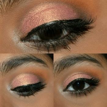 pink cut crease😉.....   #duochrome #cutcreaseeye #eyemakeuplook #eyemakeuplook #makeup #smokyeyes #shimmyshimmer #lashesonfleek #mua #muaindia #lookgoodfeelgood #roposotalenthunt