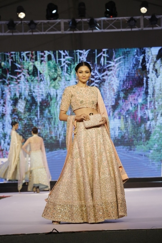 Indian attire speaks out elegance