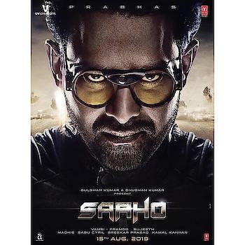 Saaho Official Poster #prabhas #rebelstarprabhas