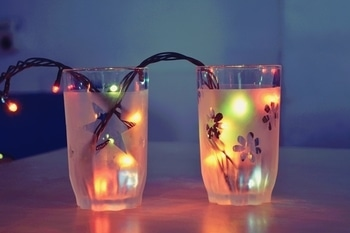 Diwali is coming..... and I want to UPcycle everything in my home... say NO to boring plain glassware 🙅♀️🙅♀️🙅♀️ #GlassEtching #hobbyinabox #diyproject #diy #crafting