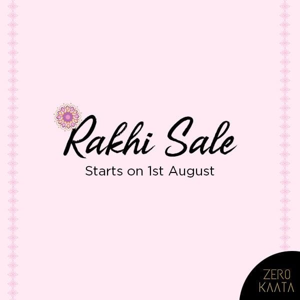 We are all set to launch our #rakhisale on 1st August  Get ready to #grab #massive #discounts on handmade jewellery  Visit www.zerokaata.com to create your wishlitst  #zerokaata #tribalbyzerokaata #rakhigifts #rakhigiftsforsister #giftsforrakhi #rakshabandhanspecial #rakshabandhan #rakhi2019 #rakhigiftforsister #rakhigiftstosister #rakhigiftsforsisterunder500 #rakshabandhangifts #festivaljewelry #festivaljewellery #festivecollection #festiveseason #festivalfashion #festivevibes #giftsforwomen #giftsforgirls #giftsforyou #giftsforeveryoneonyourlist