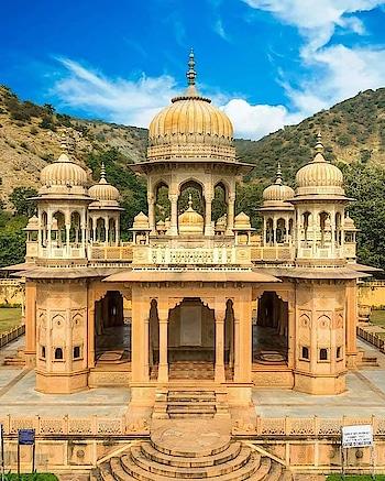 ⭕ The Royal Cenotaphs  ✔ Gaitore Jaipur