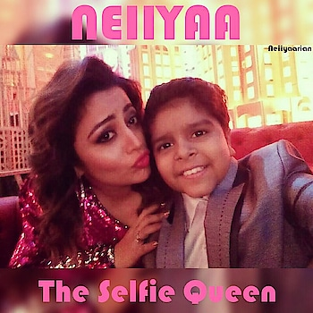 @nehhapendse Follow 👉👉👉 @nehhapendse & @neiiyaarian_fc   Junior #SalmanKhan #DivyanshDwivedi Taking Selfie With My #Misty & #SelfieQueen #NeiiyaaMam On The Set Of #EntertainmentKiRaat ... For Her Upcoming Sunday Episode ... #LoveYouAlways ... Courtesy :  #Neiiyaarian ...!!!😘😘😍😍💗💗💟💟💖💖💞💞💕💕