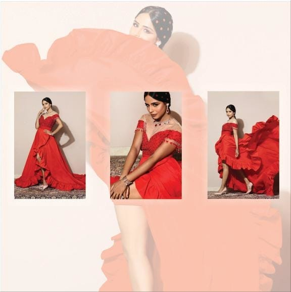 #sprinklebynityabajaj Our concept gowns are perfect for that upcoming pool party or youngsters night. Introducing easy, comfortable and stylish occasionwear with our autumn winter festive 2019 collection named SPRINKLE. #labelnityabajaj #nityabajaj #red #redhot #gowns