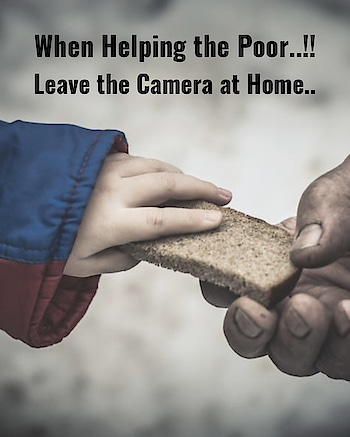 #-india #poor #rich #help #helpothers #roposo