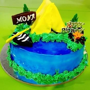 #happybirthday  #themecake #adventurethatislife #camping #kayaking #highonlife #awesomenessgalore #lovemylife #friend forever #celebration 🎉   #gratitude