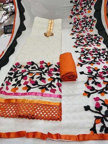 Fabrics details Chanderi with lining braso top bottom silk santoon chiffon aari dupatta  *price 625+$🐋🐋*   Direct Message us or whatsapp on 9867764381   Follow us 👉🏻on FB:  *https://www.facebook.com/Stylista-Fashionss-2137660539847810/*  #stylistafashionss #style #fashion #trend #readysuit #dressmaterial #ethnic #western #fashionjewellery  #handbags #kurti #botttomwear #onestop #shopping #saree #readymadeblouse #lookstylish #bethefashion #shopstylistafashionss #onlineshopping #bestquality #bestprice #bestbuy #swag