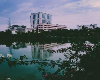 #campuslife #campusdays #serene #srm #madrasdiaries #srmdiaries #landscapephotography #RoposoTalentHunt