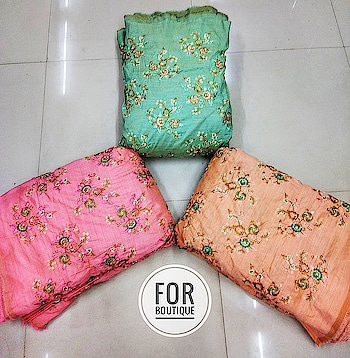 Design no. 359027600 Fabric - Malbari silk DM for inquiry or order WhatsApp no +91-8511248636.  #forboutique  #manufacturer #fabric #motif #dressmateria #textiledesign #textilearts #custommade #booknow #embroidered  #nominimumorderquantity #restocked #gajab #elegant #shoppers #lifestyle #tyga