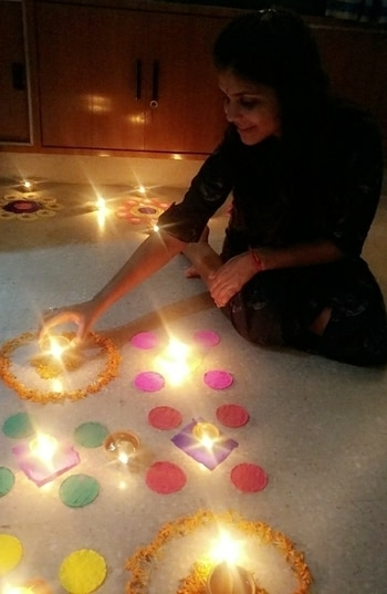 #diwali2017 #festivaloflights #home #happy