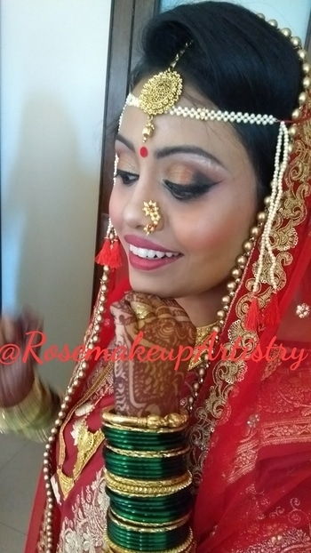 #rosemakeupartistry #punemakeupartist #indianbrides