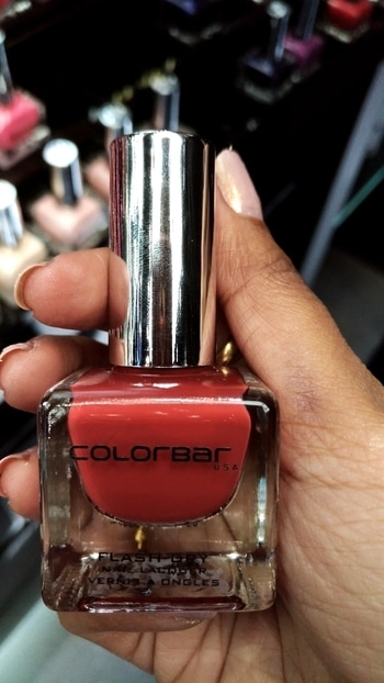Lovely  #Nailshade from #colorbar 💅   #Rustiway #nails  #nail-addict #makeuplove #beautyaddict #beautyblogger #latestarrivals #fashionandbeautyblogger #nailsoftheday #nailpolishaddict