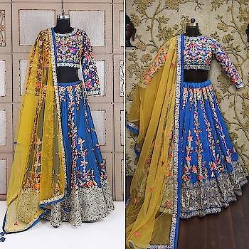 🛍️Enhance your Ethnic wardrobe with this #yaleblue silk lehenga at 🇮🇳Rs 4390/- . 👉Whatsapp us on +917874155566 to place your order  . 👉💯Assured Quality! ✔ 👉💯Authentic Original product! ✔ 👉🌍Worldwide Shipping available️ ✔ 👉👗Custom Size Stitching available ✔ 👉💵Cash on Delivery 🚚available in India 🇮🇳✔ . . #ethnicwear #indiandress #indianethnicwear  #bridallehenga #lehengacholi #weddingdress #weddinglehenga #trendingdress #bluelehenga #designerlehenga #lehengacouture #craftedlehenga #embellishedlehenga #silklehenga #latestlehengas #latestlehengadesigns #navybluelehenga #heavyworklehenga #embroideredlehenga #lehengacholiformehndi #lehengacouture #lehenga #lehengadesigns #indiancouture #indianbride #indianwedding #weddingdecor