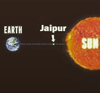 #earth #indian #jaipur #sun #summer #hot #ropo-love #ropo-good #ropo-style #roposo