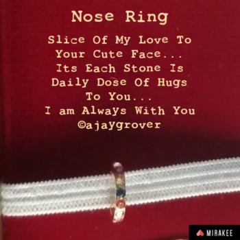 #nosering #loveshine #lovequotes #wordsofwisdom #lovegifts #roposo-style #soulfulquotes #gabru #punjabiway #mirakee #mirakeeworld #yq #yqbaba #yqdidi #myquotes