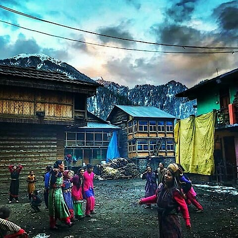 #malanahills #villageview #malana #kasol #parvativalley